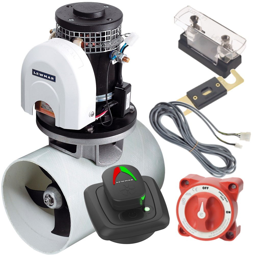 185TT Gen 2 Bow Thruster Kit with Pad Controller 3.0KW