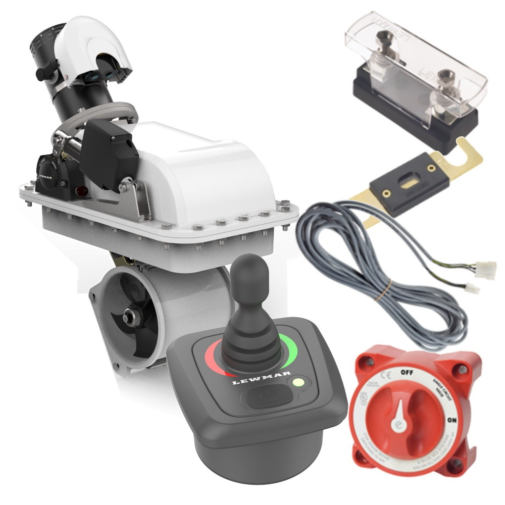 185RT Gen 2 Retractable Bow Thruster Kit with Joystick Controller 4.0KW