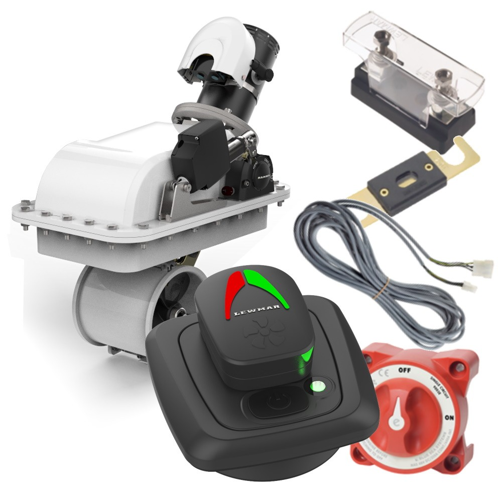 18RT Gen 2 Retractable Bow Thruster Kit with Pad Controller 6.0KW