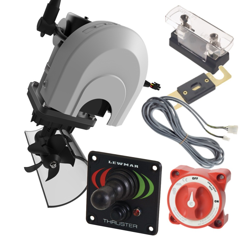 110TT Simple Bow Thruster Kit with Joystick Controller 1.5KW