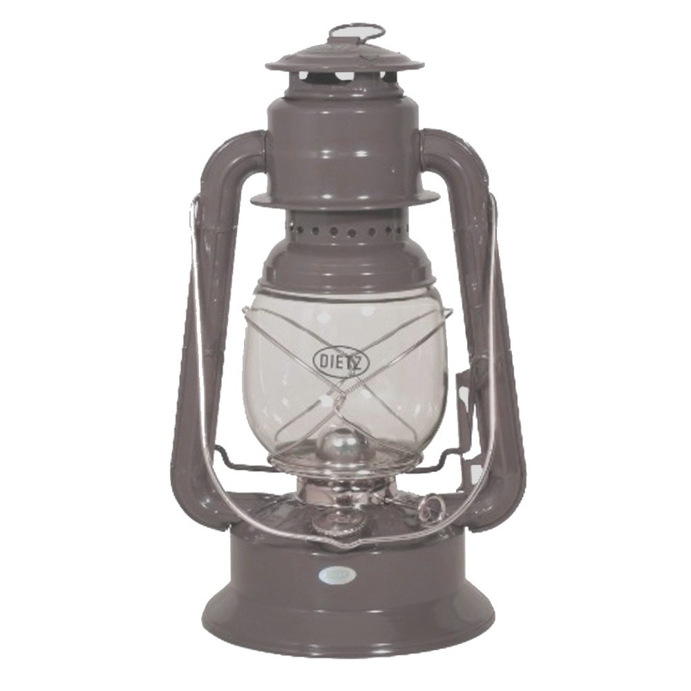 Hurricane Oil Lamp Large - Dreadnought Grey