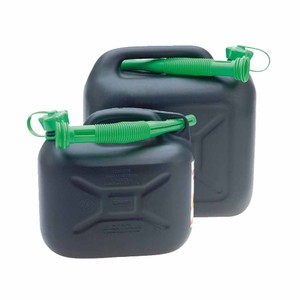 20 Litre Black Diesel Jerry Can with Spout