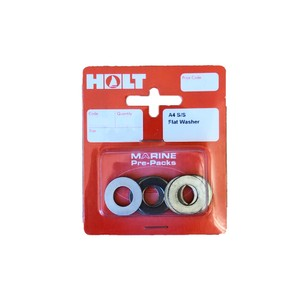 Stainles Steel A4 Flat Washers M3