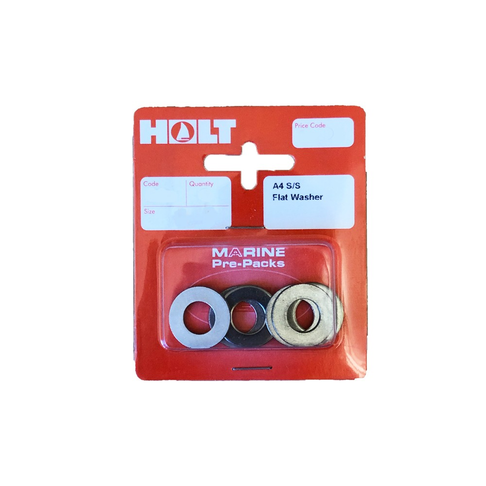 Stainles Steel A4 Flat Washers M8