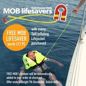 Crewfit 180N Pro Lifejacket Manual - Black Red