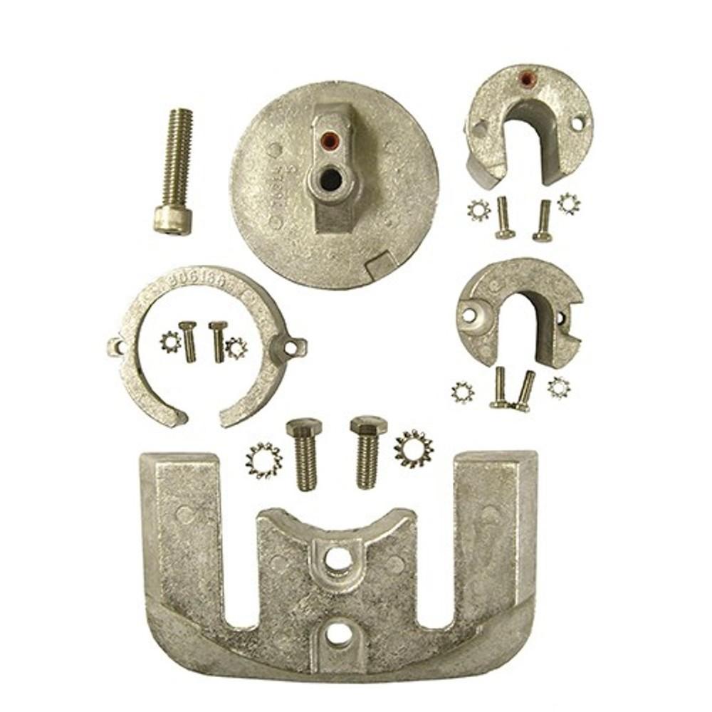 Engine Anode Kit w/Indicator Aluminium - Bravo 1