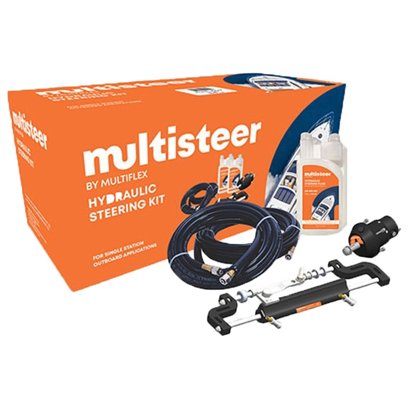 Multisteer Outboard Engine Hydraulic Steering Kit