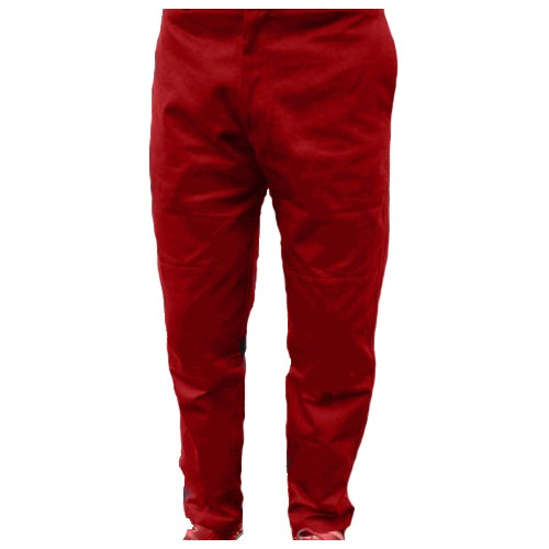 Captain  Chichester Trousers  Red Reg Size 36