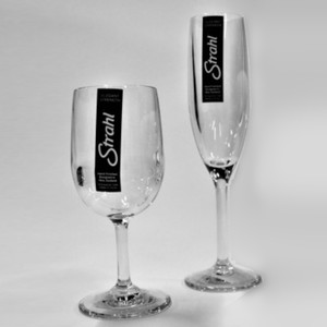 Engraved Unbreakable Glass Set of 4