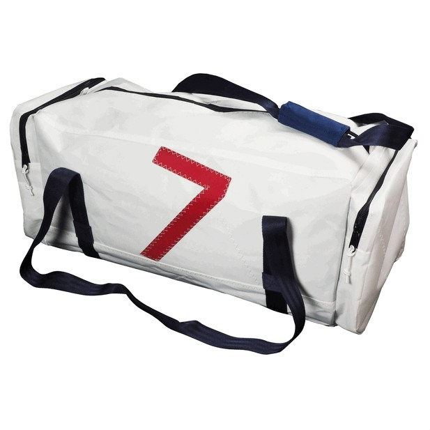 Deluxe Sailcloth Holdall Large White 90L