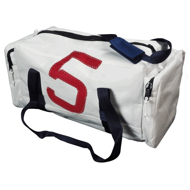 Deluxe Sailcloth Holdall Small While 19L