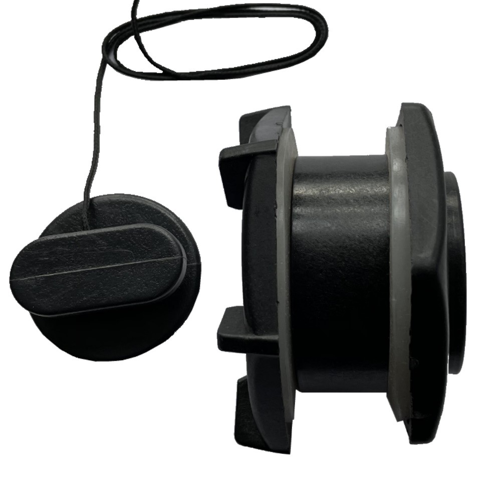 Transom Bung Complete - Black
