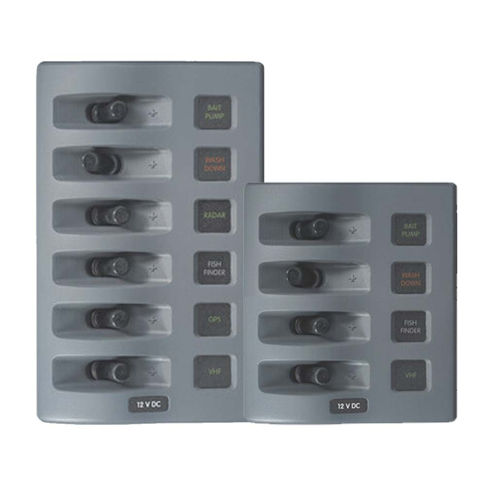 Weatherdeck Switch Panel Grey