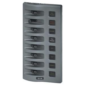 Weatherdeck Switch Panel 8way Grey