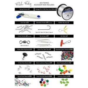 Sea Fishing Complete Kit - 500 Piece