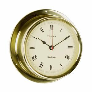 Thames 11cm Brass Clock