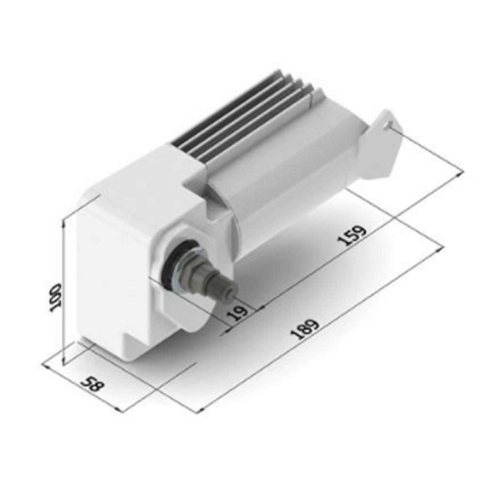 LD 215BD Wiper Motor 12V 75mm Shaft