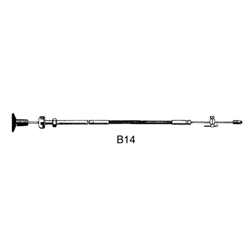 B14 Stop Control Cable and fittings