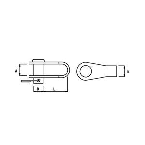 6mm Link Shackle