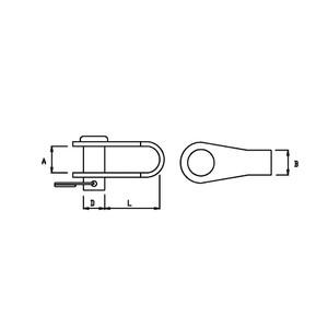8mm Link Shackle