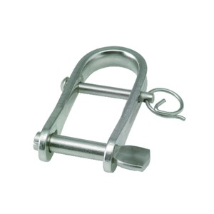 5x21mm Stainless Steel Key Pin Strip Dee with Bar Shackle