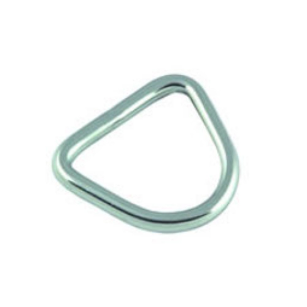 D-Ring Stainless Steel 5mm x 25mm (2pk)