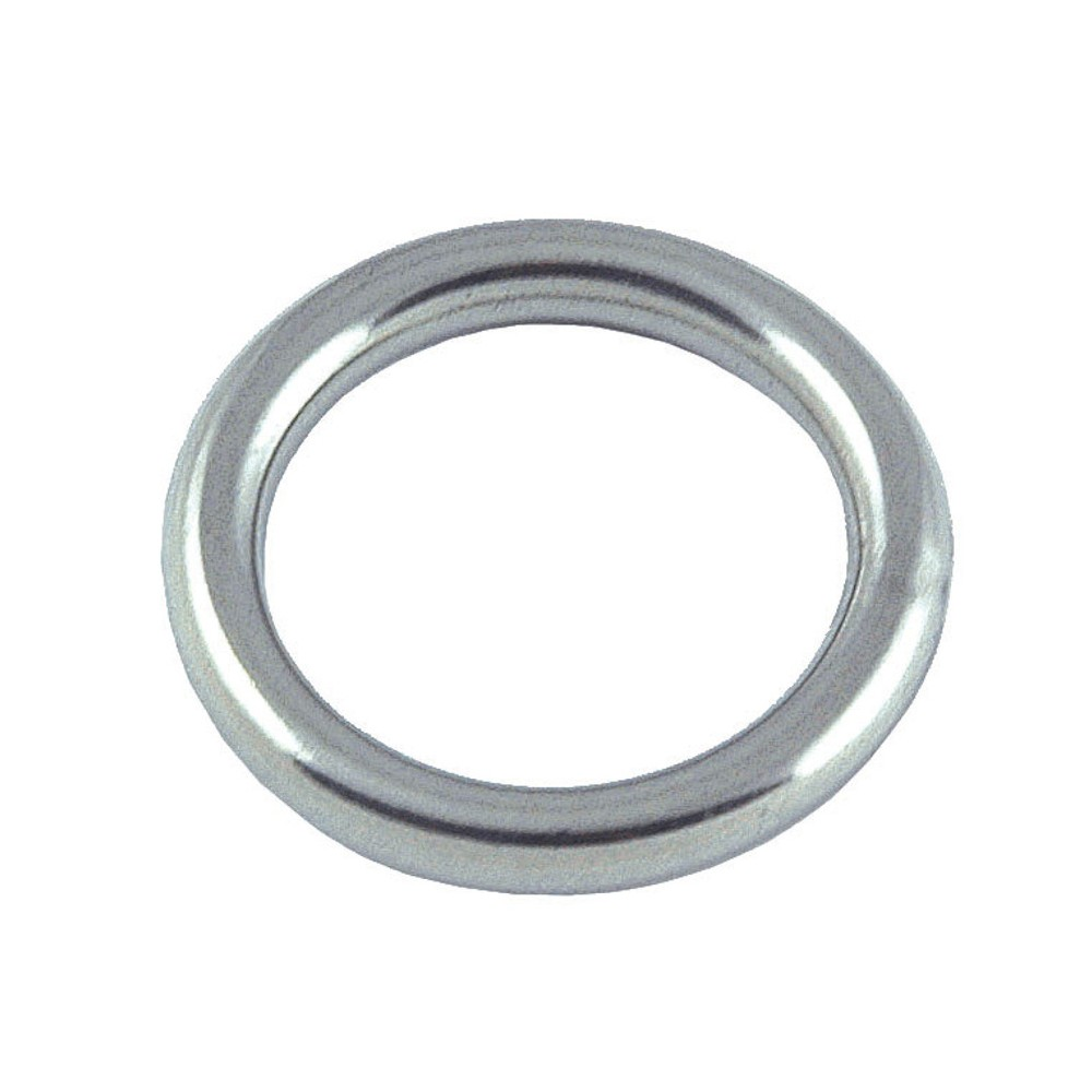 Round Ring Stainless Steel 5mm x 40mm (2pk)