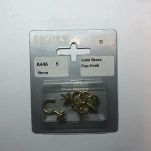 19mm Solid Brass Hook
