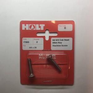 A4 AllenKey M/Screw M5x25