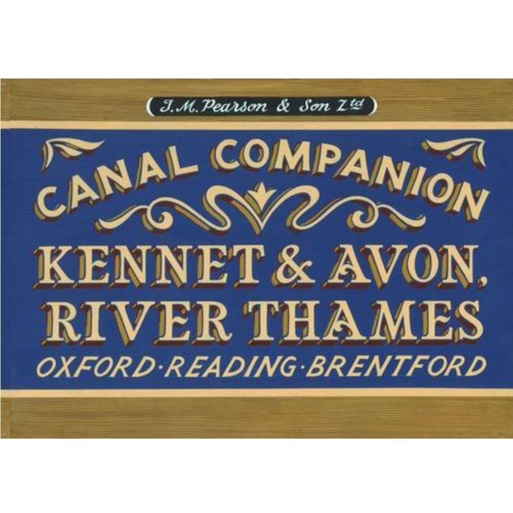 Pearsons Canal Companion-Kennet & Avon, River Thames