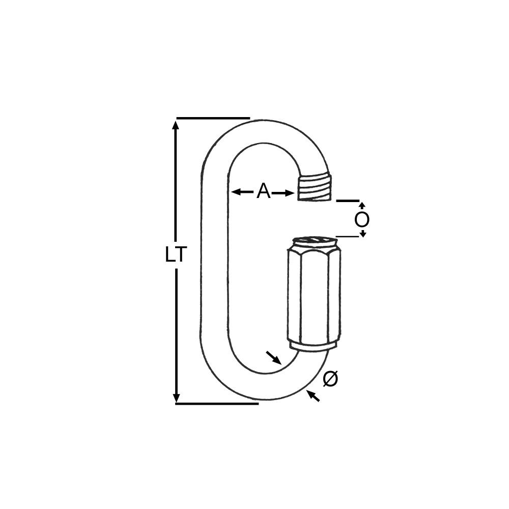 Rapide Link Std 4mm (1pk)