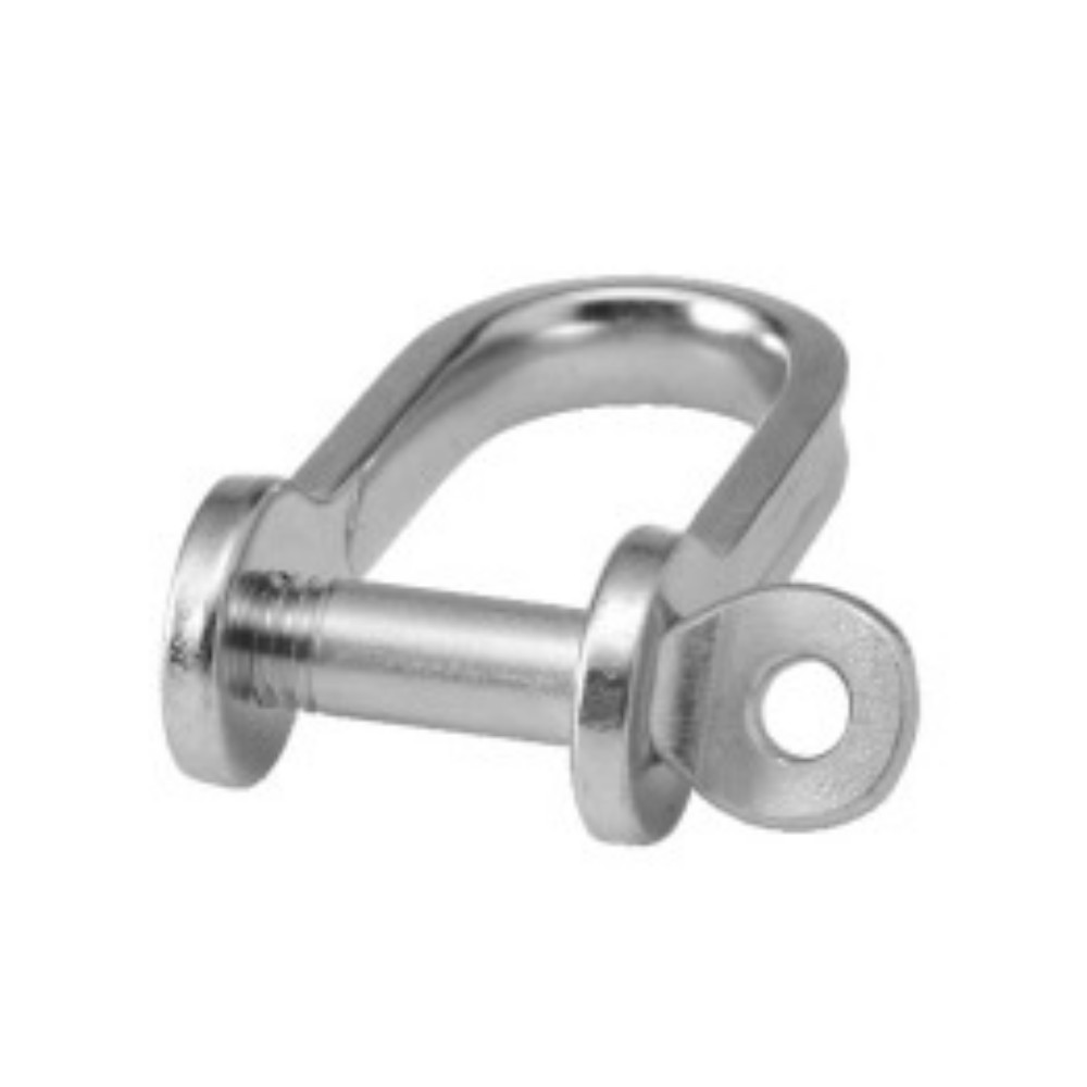 Stainless Steel Strip Dee 5mm Shackle (2pk)