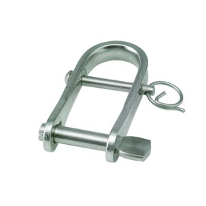 6x25mm Stainless Steel Key Pin Strip Dee with Bar Shackle