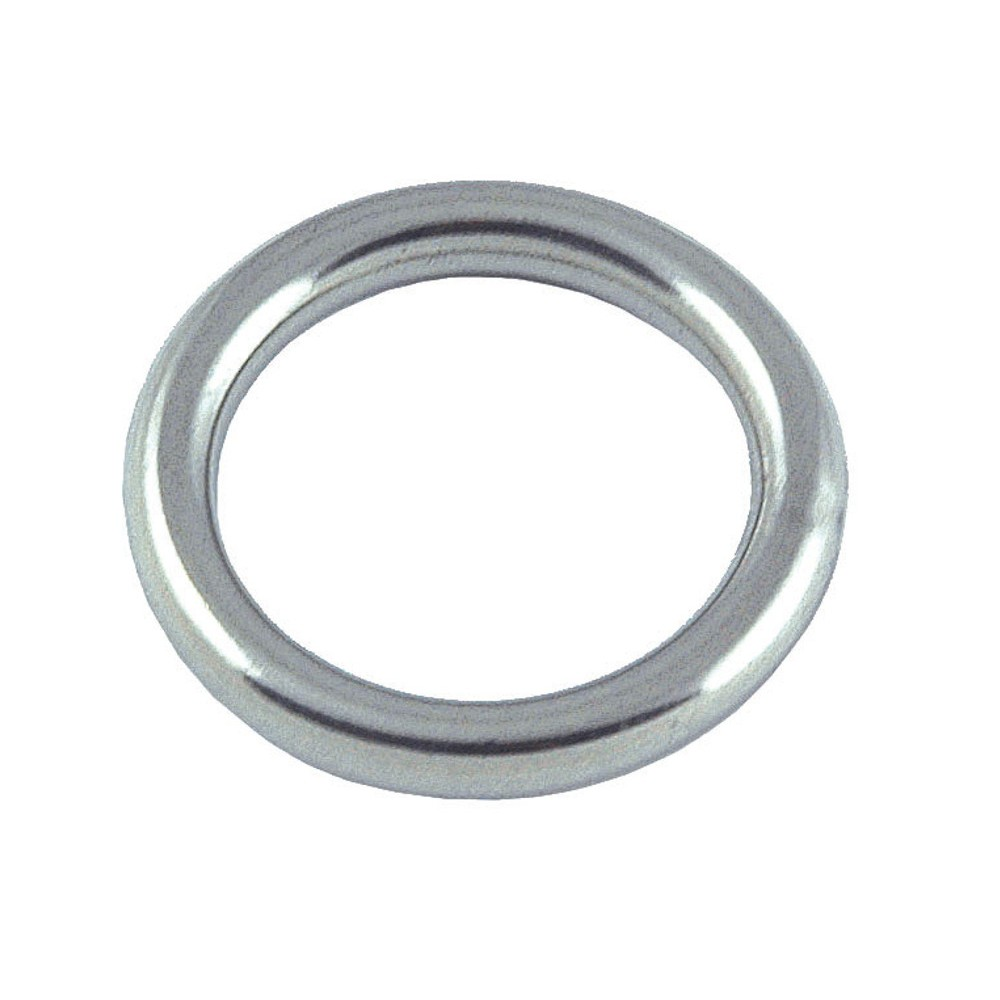 Round Ring Stainless Steel 4mm x 25mm (2pk)