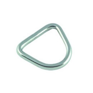 D-Ring Stainless Steel 4mm x 25mm (2pk)