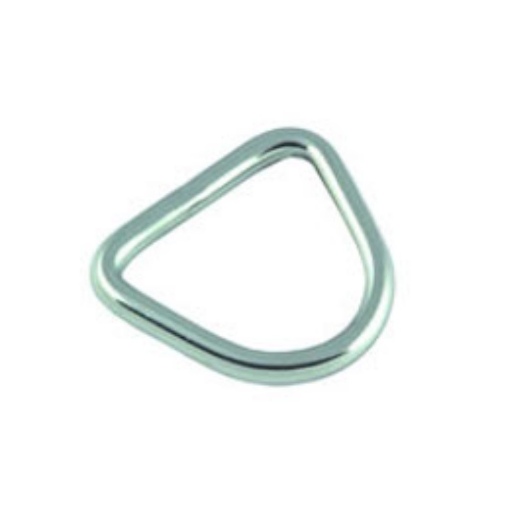 D-Ring Stainless Steel 6mm x 50mm (2pk)