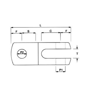 8mm Machined Toggle