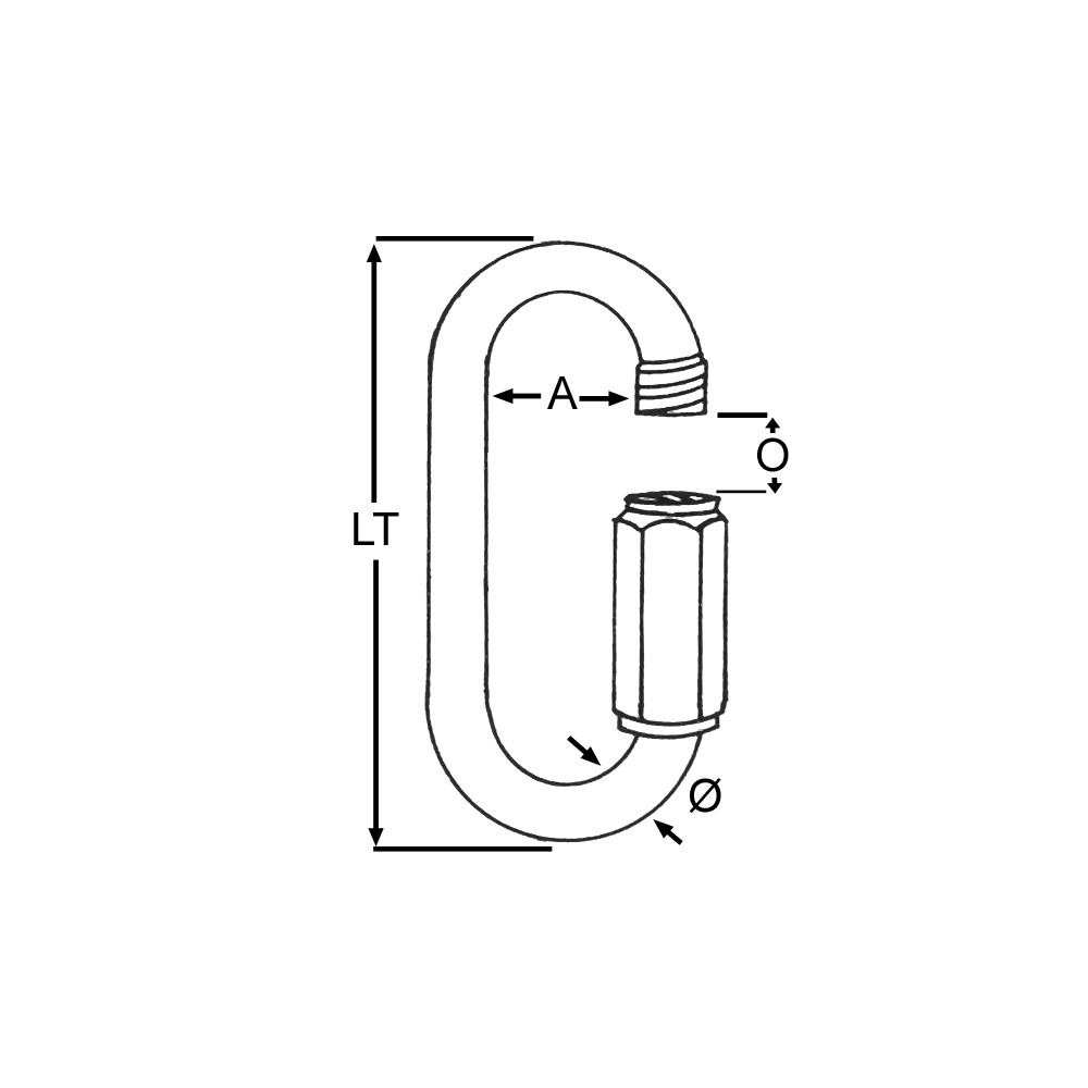 Rapide Link Std 8mm (1pk)