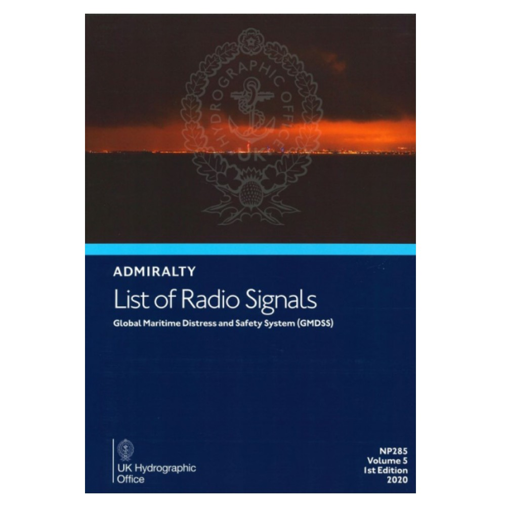List of Radio Signals Vol.5 GMDSS