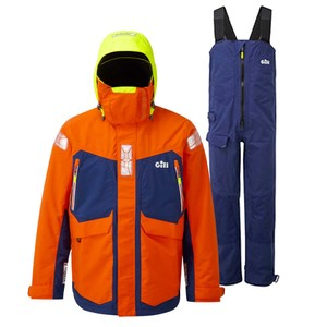 OS2 Offshore Suit Tango/Dark Blue + Helmsman Gloves