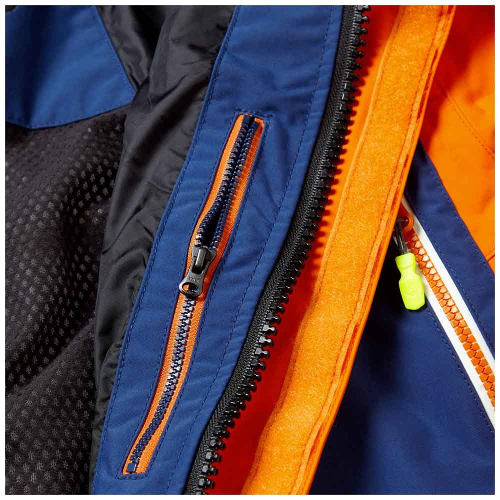 OS2 Offshore Suit Tango/Dark Blue + Helmsman Gloves