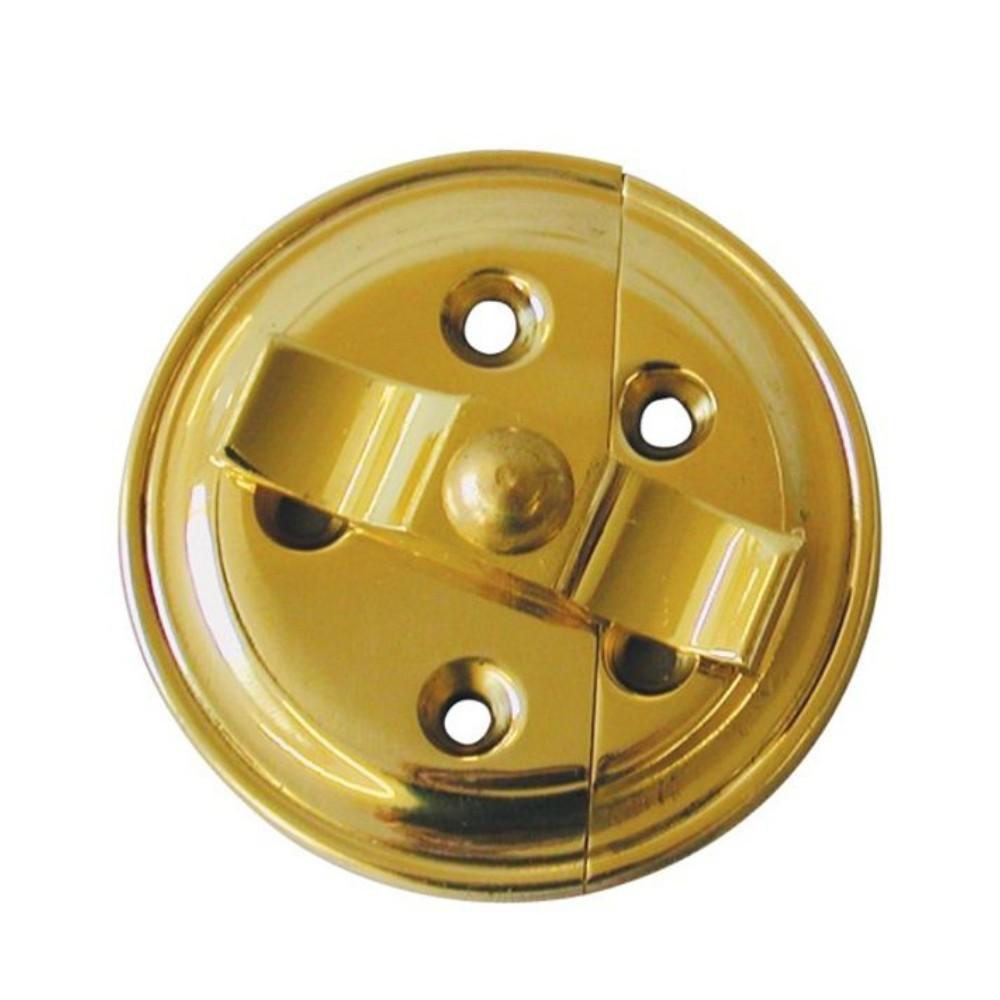 Turnbutton Plate Brass