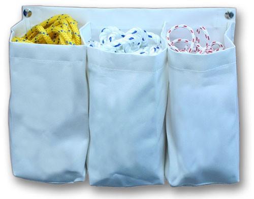 Halyard Bag Triple White