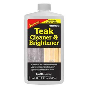 One Step Teak Cleaner & Brightener