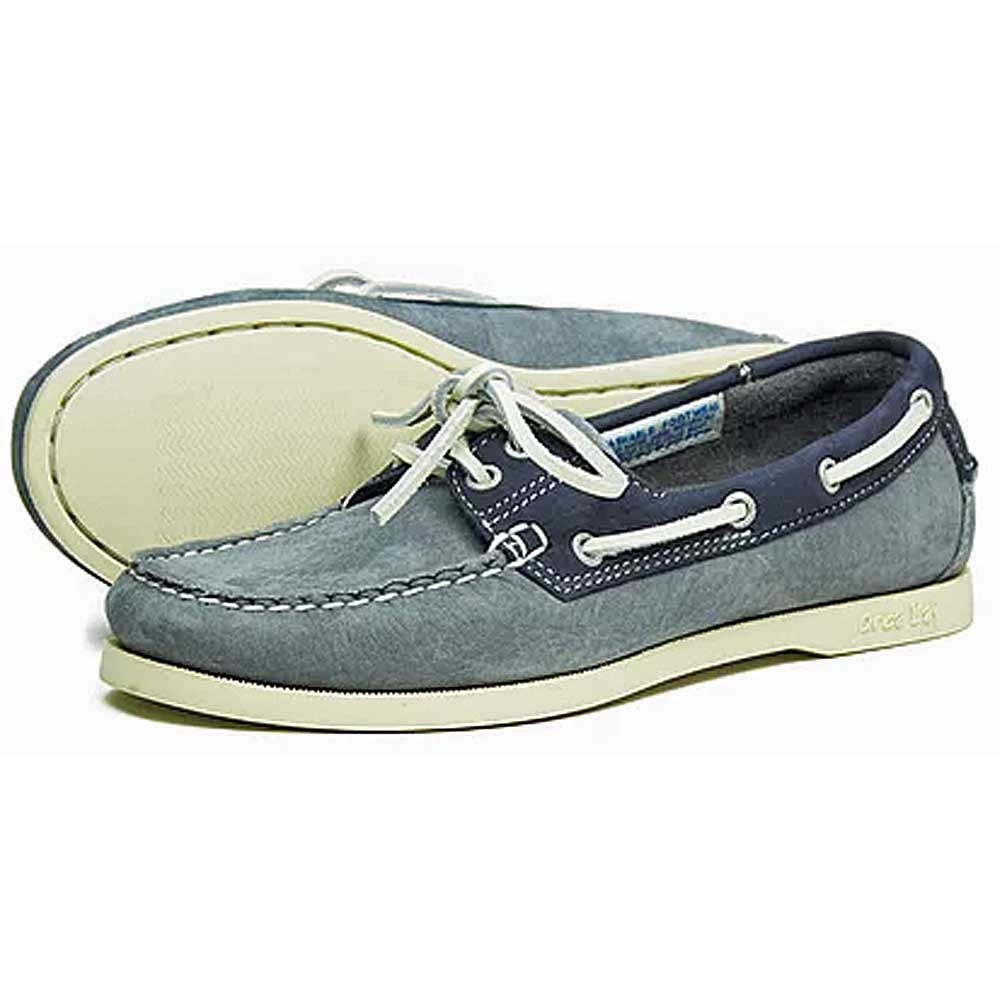 Sandusky Women's Deck Shoes - Grey/Indigo