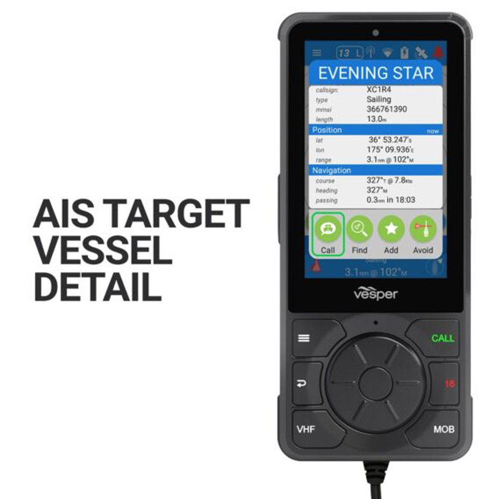 Cortex V1 VHF Radio With SOTDMA smartAIS Transponder and Vessel Monitoring