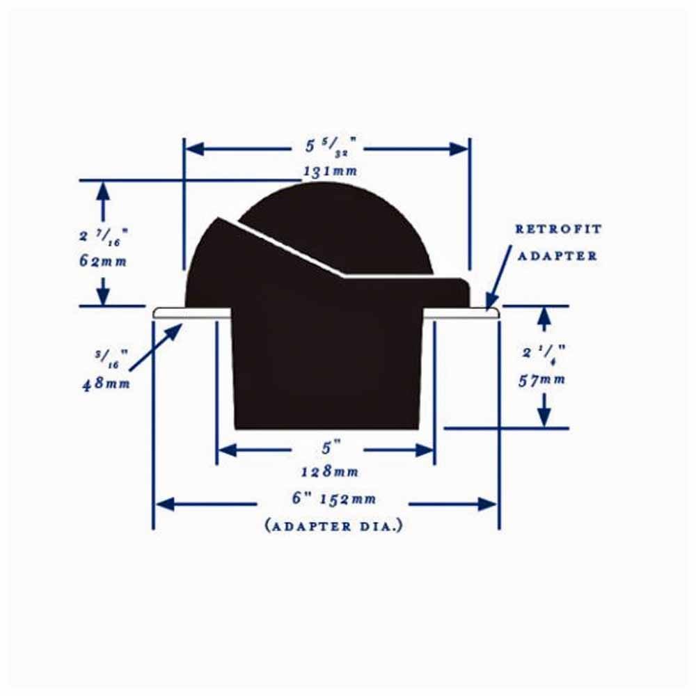 Helmsman Compass - Flush Mount Direct Read