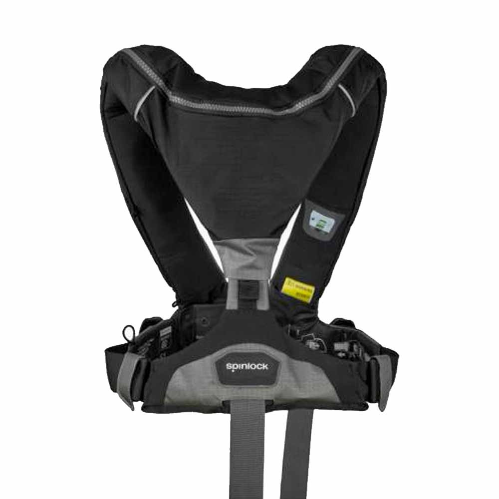 Deckvest 6D 275N with fitted HRS System Black
