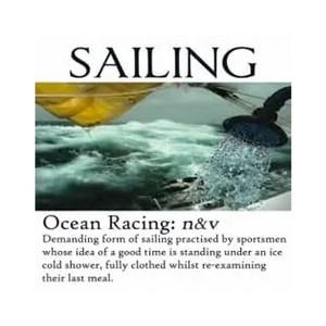 Sailing Card - Ocean Racing