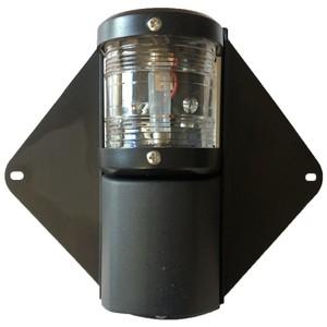 Combination 12m Mast & Deck Light Black
